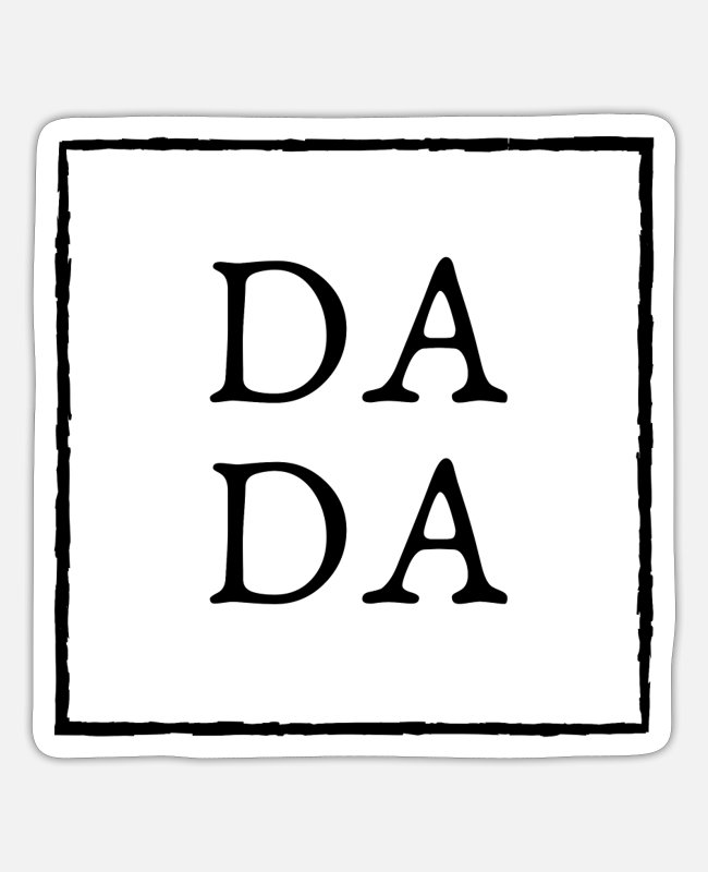 Grandpa Stickers - Dada Shirt, Dad Shirts, Dadlife Shirt,Dad Life - Sticker white matte