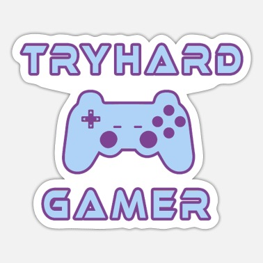 Console Tryhard Gamer Gaming Gamepad Console console - Sticker