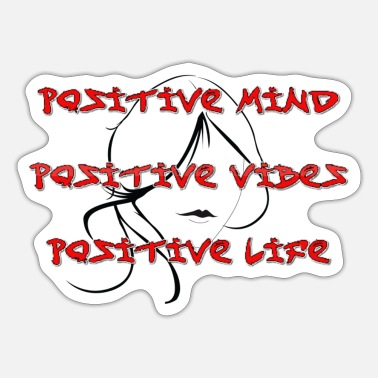 Positive Thinking Positive think - Sticker