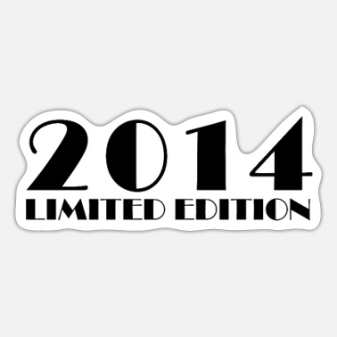 2014 2014 Limited Edition - Sticker
