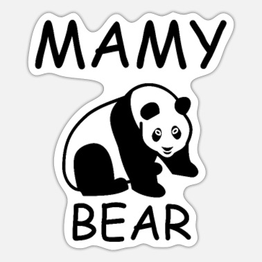 Mami Mamy Bear - Sticker