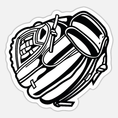 Baseball Glove Baseball glove - Sticker