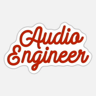 Audio AUDIO ENGINEER - Sticker