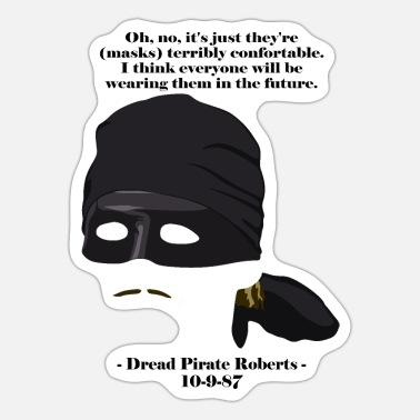 Bride Masks are the future - Sticker