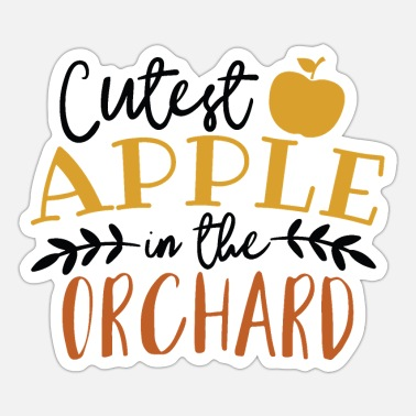 Orchard Apple In The Orchard - Sticker
