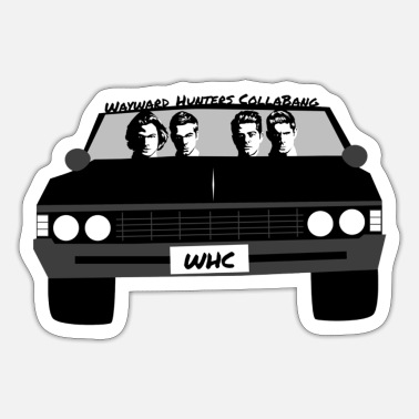 Supernatural 22D50A24 655F 43E9 BDF8 25770A80C842 - Sticker