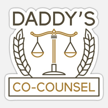 Counsel Daddy's Co-Counsel - Sticker