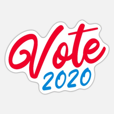 Election Election America 2020 elect Donald Trump - Sticker