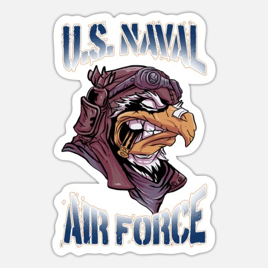 Us Air Force U.S. Naval Air Force Eagle Design for Air Force - Sticker