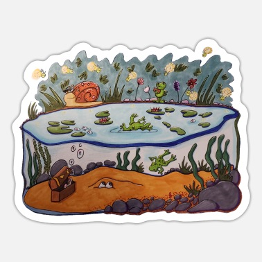 Pond Pond - Sticker