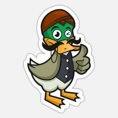 Tradition TRADITIONAL DUCK - Sticker