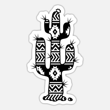 Aztec Football Aztec cactus - Sticker