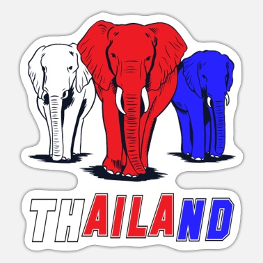 Koh Chang Thailand Elephant Design/Gift Idea - Sticker