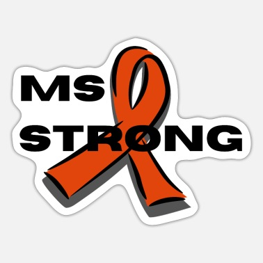 MS STRONG - Sticker