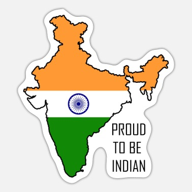 Bollywood Proud to be Indian - Sticker