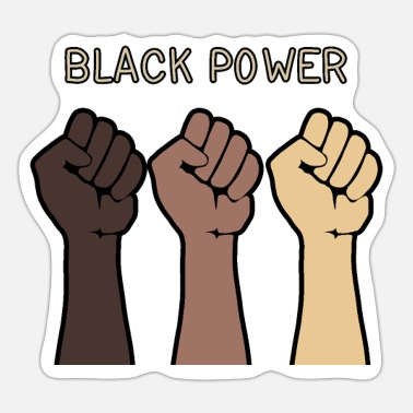 Black Power Black power - Sticker
