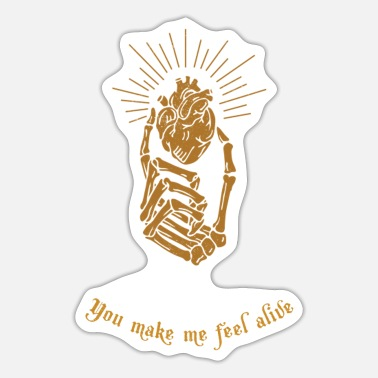 Elliot You Make Me Feel Alive - Sticker