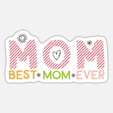 Super Mama Funny mum presents for super mama - Sticker