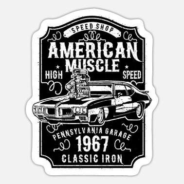 Classic Car Mechanic CLASSIC CAR - Sticker