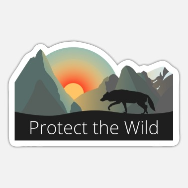 Protection Protect the Wild - Sticker