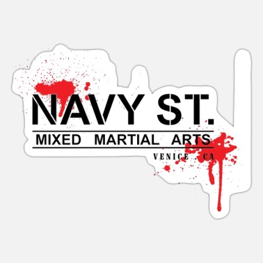 Navy NAVY STREET - Sticker