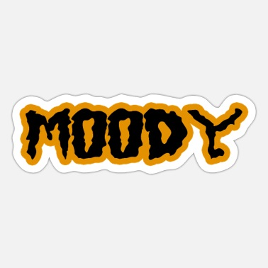 Moody Shop With Zody Moody zlp - Sticker