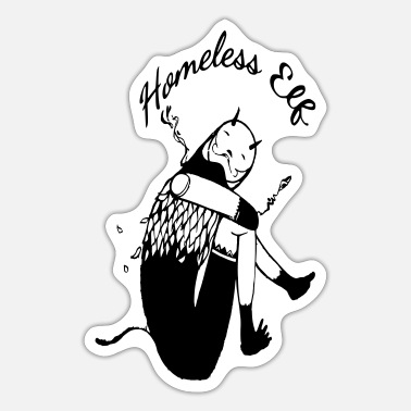Homeless Homeless fairy - Sticker