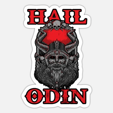 Odin hail odin - Sticker