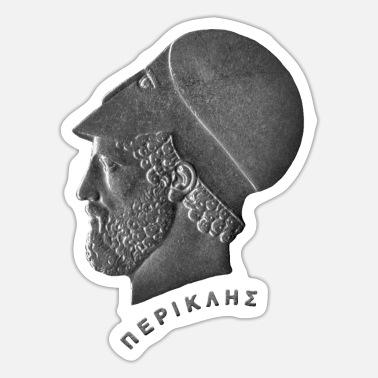 Persian History Pericles c. 495 – 429 BC - Sticker