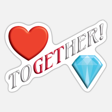 Flirting TOGETHER, to get her,date, flirt, dating, flirting - Sticker