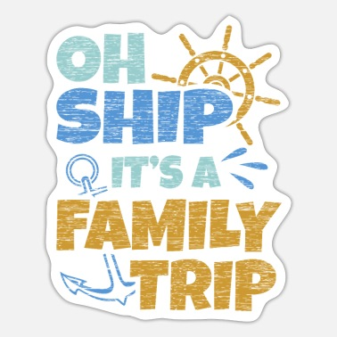 Cruise Ship Cruise Ship - Sticker