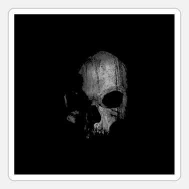 Horrormovie skull - Sticker