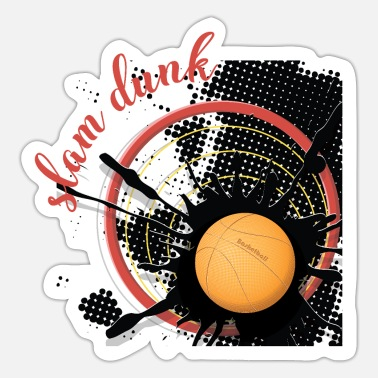 Grand Slam slam dunk1 - Sticker