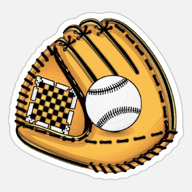 Baseball Glove Baseball Gloves - Sticker