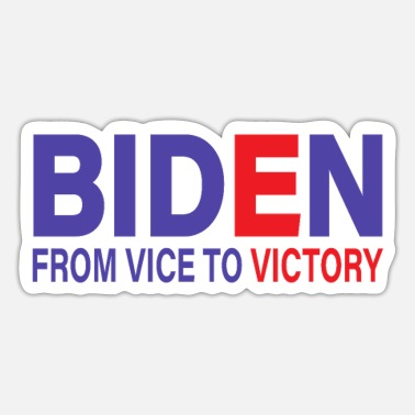 Victory Biden From Vice To Victory Election Celebration - Sticker