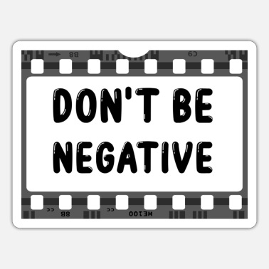 Negative Negative - Sticker
