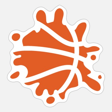 Golden State Warriors Splash Basketball - Sticker