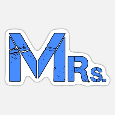 Mr Mr &Mrs - Sticker