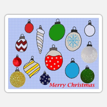 Ornament Christmas Ornaments - Sticker