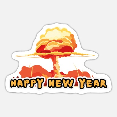 Poster HAPPY NEW YEAR - Sticker