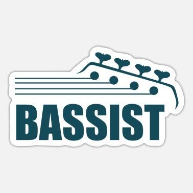 Bassist Bassist - Bassist Design - Sticker