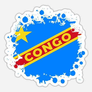 Likasi Congo Splash Design - Sticker