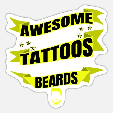Dad funny sayings beard quotes #funny beard memes - Sticker