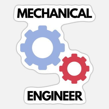 Designer Funny Mechanical Engineer Design - Sticker
