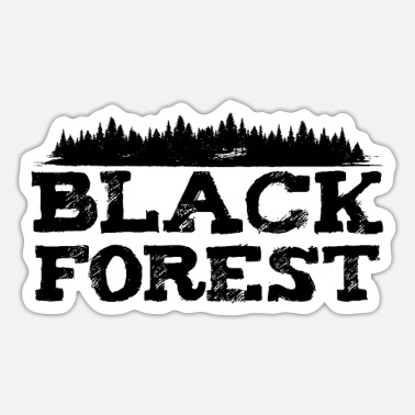 Black Forest Black Forest - Sticker