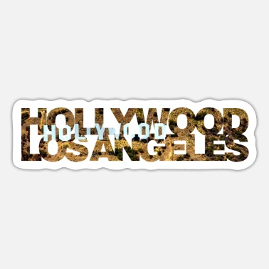 Hollywood Hollywood Los Angeles - Sticker