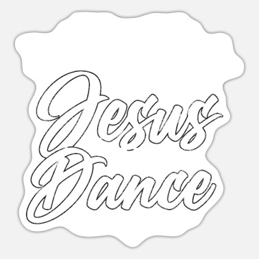 Runner This Girl Runs On Jesus And Dance - Sticker