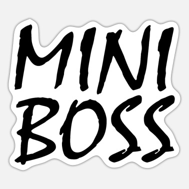 Boss MINI BOSS - Sticker