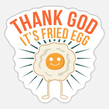 Egg Eggs - Sticker