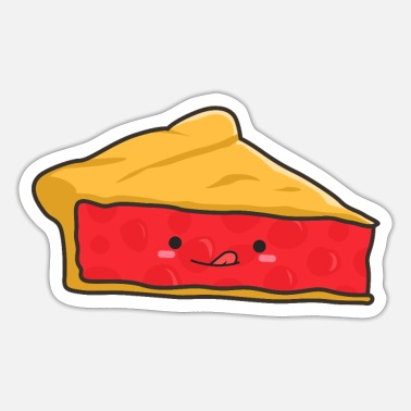 Cherry Pie Slice of Cherry Pie - Sticker